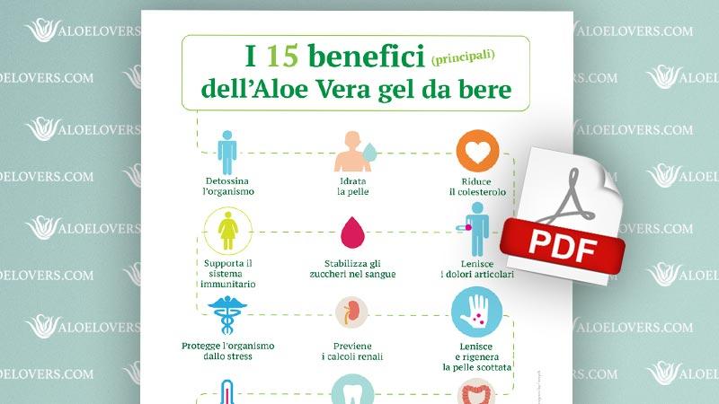 I 15 benefici dell'Aloe Vera gel da bere