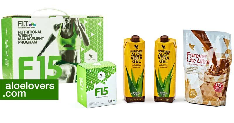 forever-living-F15-programma-tonificazione-detox-aloe-vera-fit-15