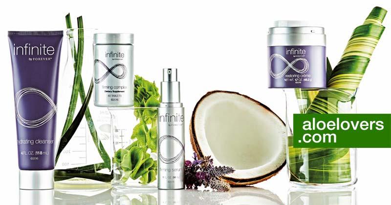 Infinite Forever Nuovo Anti Aging Skin Care con Aloe Vera