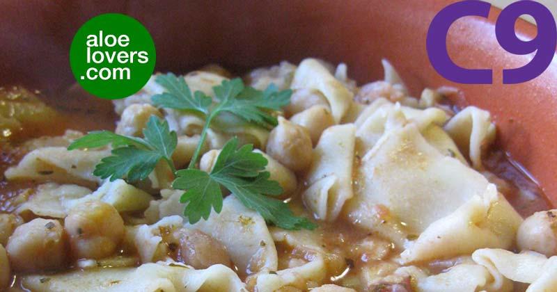 ricette-detox-per-c9-forever-clean-9-pasta-ceci