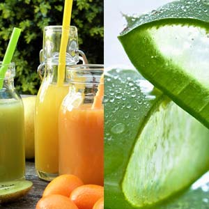 Bevande depurative con Aloe Vera