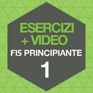 Esercizi Fit 15 Forever F15 Principiante 1