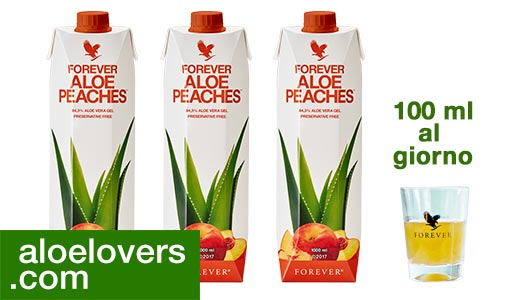forever-aloe-vera-peaches-pesca-programma-detox-aloelovers