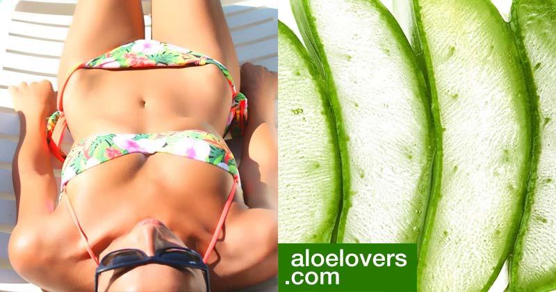 Proteggere la pelle dal sole con prodotti naturali Aloe Vera