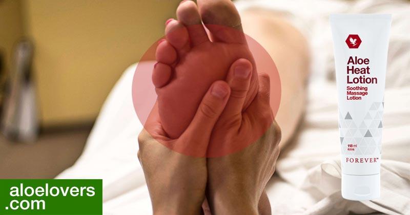 nuova-aloe-heat-lotion-benefici-opinioni-ingredienti-controindicazioni-massaggio-piedi