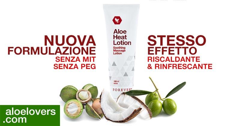Nuova Aloe Heat Lotion Benefici Opinioni Ingredienti Controindicazioni