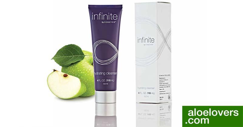 infinite-by-forever-anti-age-con-aloe-vera-hydrating-cleanser-prodotto