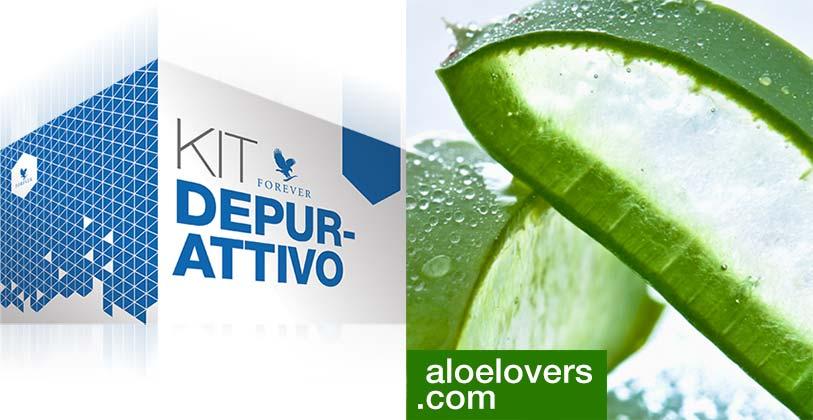 Nuovo Kit Depurativo con Aloe Vera Gel Forever Living