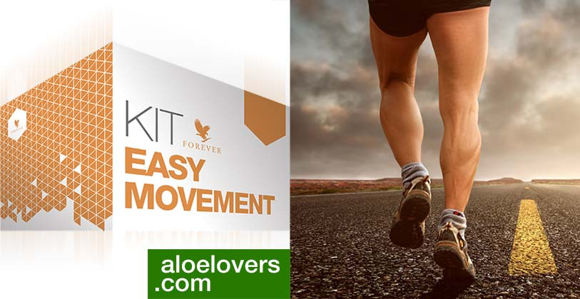 Nuovo Kit Easy Movement Articolazioni con Aloe Vera Forever Living