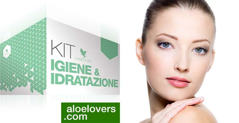 Nuovo Kit Igiene Idratazione con Aloe Vera Gel Forever Living