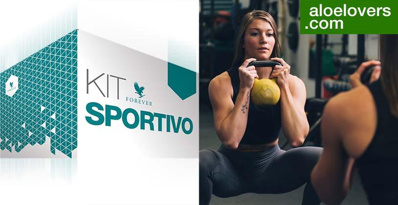 Nuovo Kit Sportivo con Aloe Vera Gel Forever Living