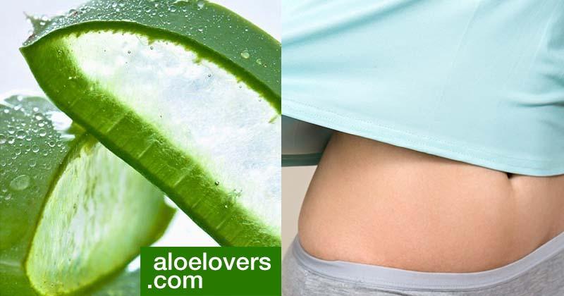 Benessere del colon con Aloe Vera