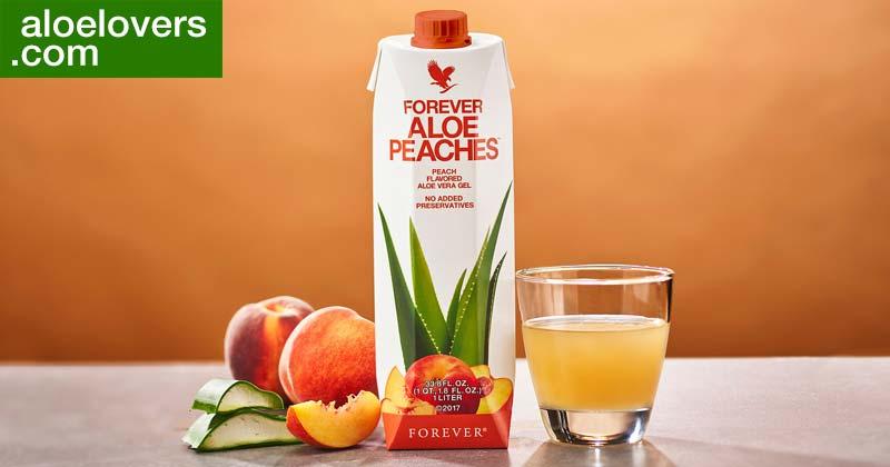 Benefici di Forever Aloe Peaches Aloe Vera alla Pesca