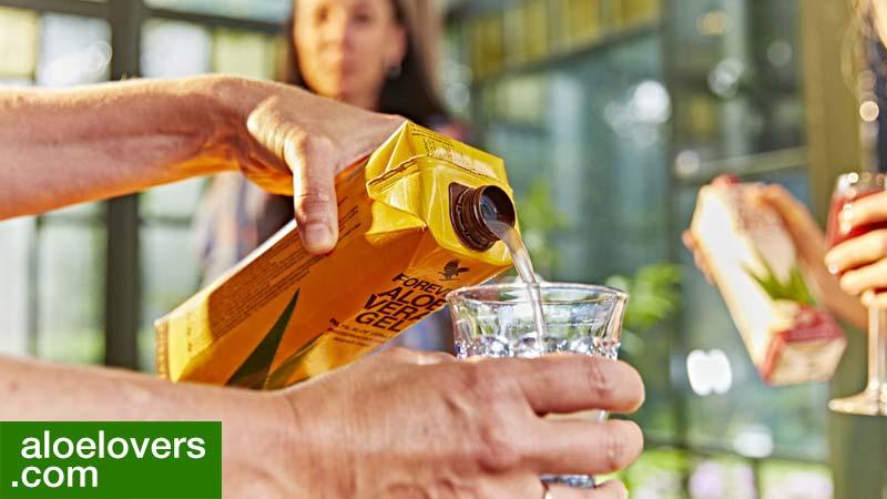 Perché bere Aloe Vera Forever Living ogni giorno fa bene alla salute