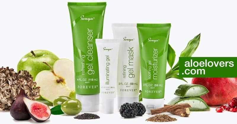 Sonya Skincare Forever Living per la cura della pelle mista