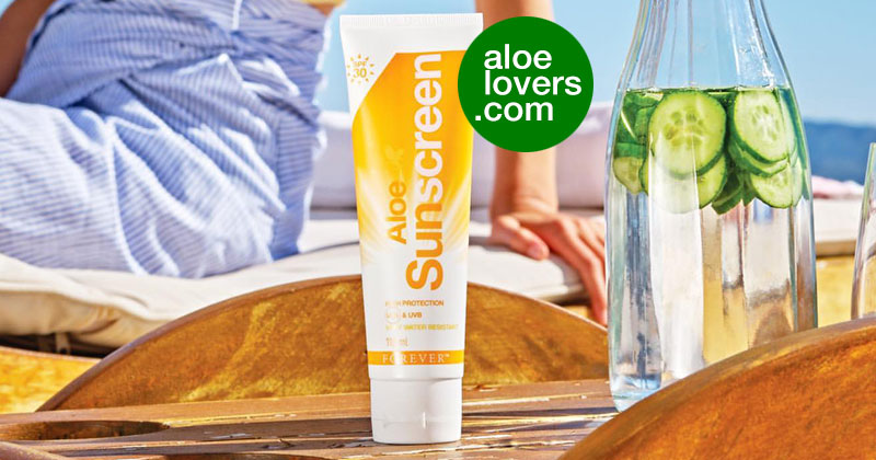 Crema Solare Aloe Sunscreen Forever Living