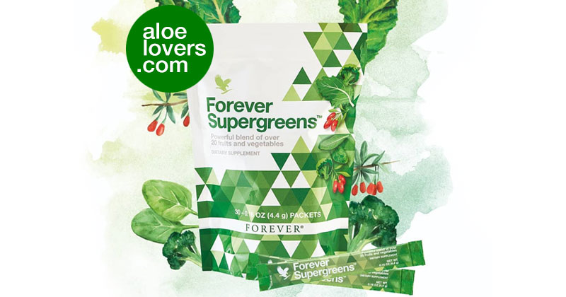 Forever Supergreens Superfood con Aloe Vera