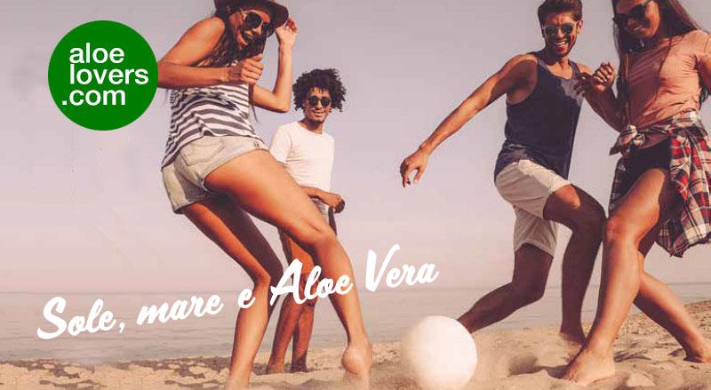 Protezione solare con Aloe Vera Forever Living