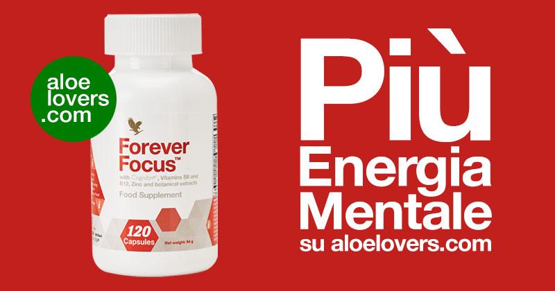 Come avere più energia mentale con Forever Focus